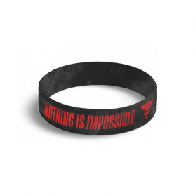 WRISTBAND 042 NOTHING IS IMPOSSIBLE