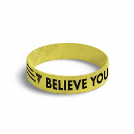 WRISTBAND 044 BELIEVE YOU CAN