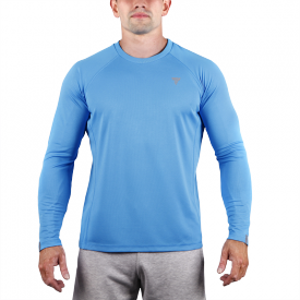 TW COOLTREC 019 BLUE LONG SLEEVE