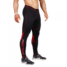 TW PRO PANTS 003 BLACK-RED