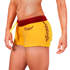 TW SHORT PANTS TRECGIRL 01 YELLOW