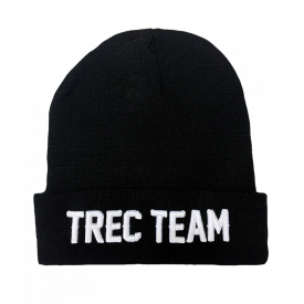 TW Winter Cap 007 TREC TEAM Black
