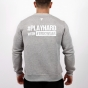TW SWEATSHIRT 030 PLAY HARD GRAY