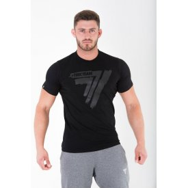 TW TSHIRT PLAY HARD 009 BLACK