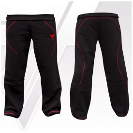 TW PANTS BLACK-RED